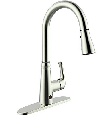 best touch kitchen faucet best touchless kitchen faucet guide amp reviews buy the 16384