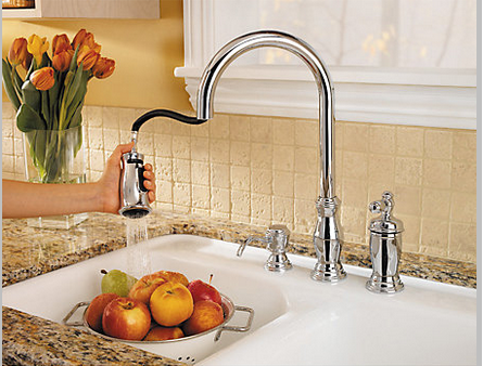 Pfister faucets reviews.Pfister Hanover 1-Handle Pull-Down Kitchen Faucet