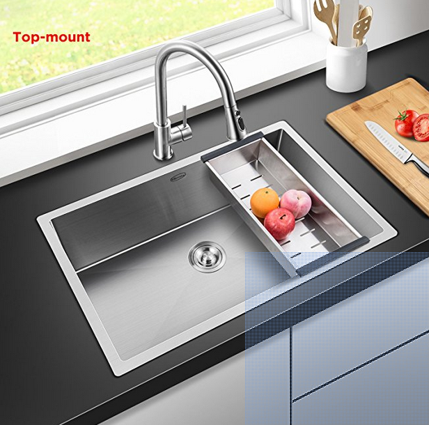 5  commercial 30 inch 10 inch deep stainless steel kitchen sink best stainless steel sinks  reviews  u0026 top picks for you  2018   rh   faucetsview com